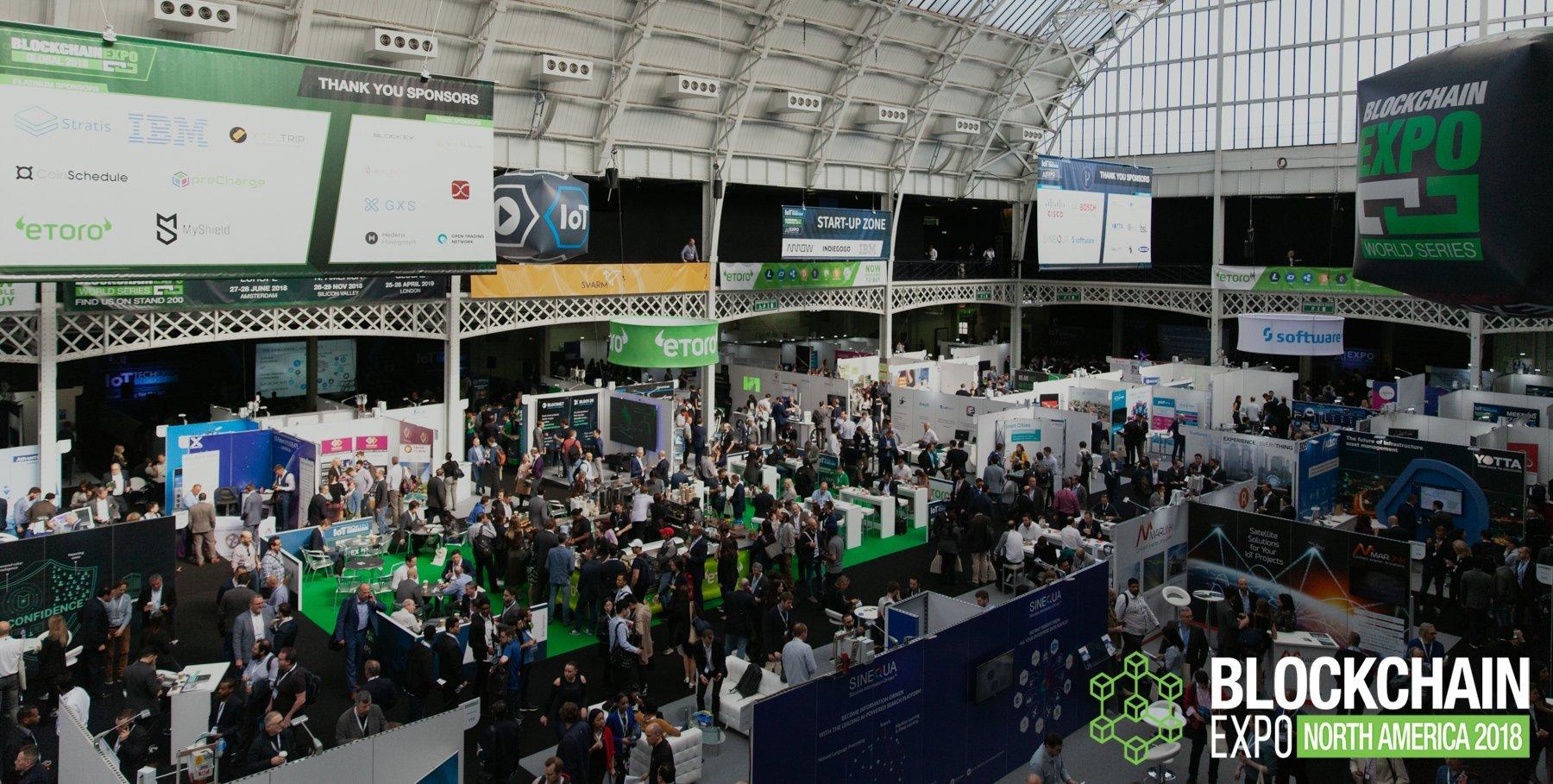 Blockchain Conference & Exhibition | Blockchain Expo North